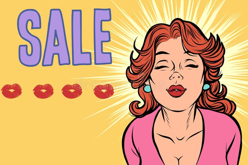 Illustration de femmes célibataires sexe snap